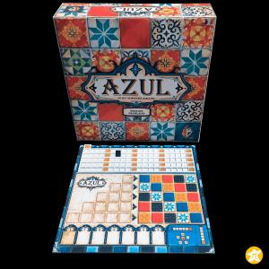 Azul lot de 4 plateaux scores