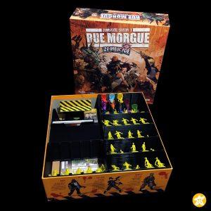 Zombicide rue morgue rangement box insert