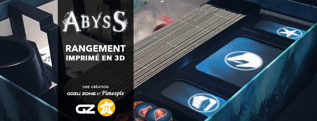 Partenariat : rangement pour Abyss et ses extensions
